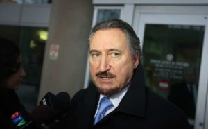 Patrick Ducharme outside the courtroom
